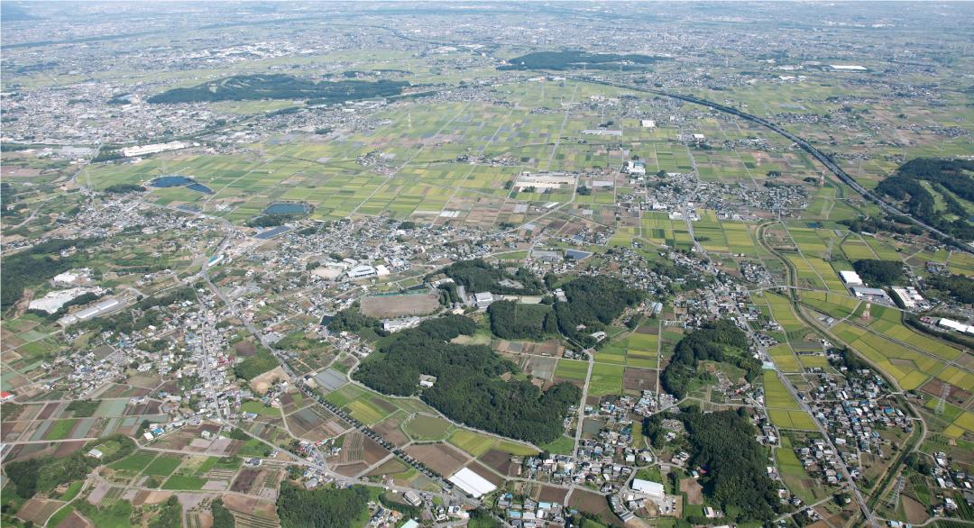 美里町の風景
